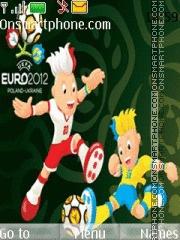 Скриншот темы Euro 2012 Mascots
