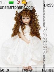 Cute Doll 04 theme screenshot