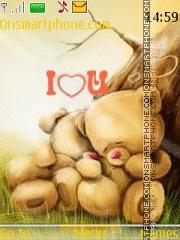 Love Bears 04 es el tema de pantalla
