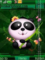 Pillow Panda theme screenshot