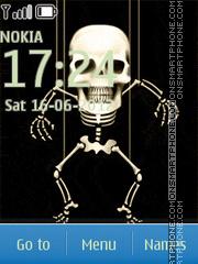 Skeleton New Icons theme screenshot