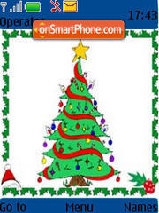 Christmas Tree theme screenshot