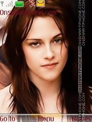 Kristen Stewart 07 theme screenshot