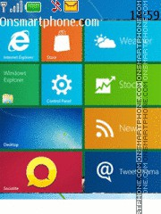 Windows Phone theme screenshot