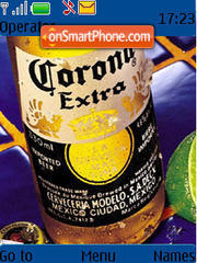 Corona theme screenshot