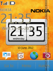 Nokia Android 01 theme screenshot