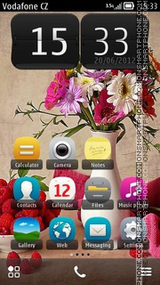 Flower Vase 01 theme screenshot