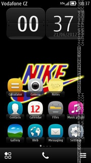 Nike Barca 01 theme screenshot