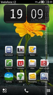 Beauty Flower Theme-Screenshot