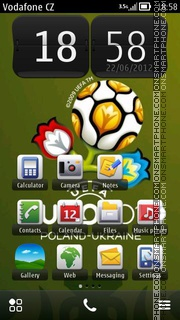 Euro 2012 07 theme screenshot