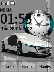 Audi tema screenshot