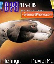 Hand or Dog theme screenshot