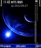 Скриншот темы StarLight