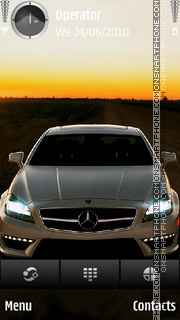 Mercedes CL63 theme screenshot