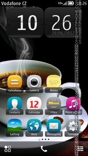 Coffee Smoke 01 theme screenshot