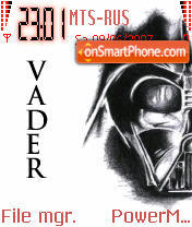 Vader Revised theme screenshot