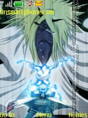 Naruto Death Seal theme screenshot