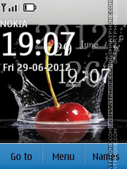 Cherry Theme-Screenshot