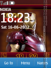 Iron Man 29 tema screenshot