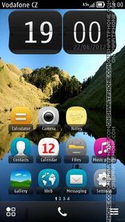 Evolve Stile (Belle) theme screenshot