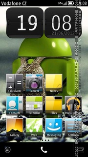 Android ICS tema screenshot