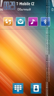 Color Harmony theme screenshot