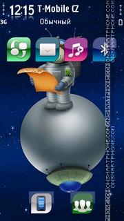 Astronaut 01 tema screenshot