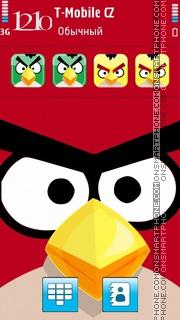 Angry Birds 2013 theme screenshot