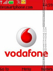 Vodafone theme screenshot