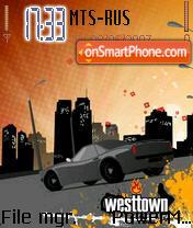 Westtown es el tema de pantalla