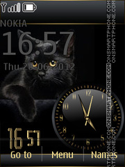 Golden Cat Dual theme screenshot