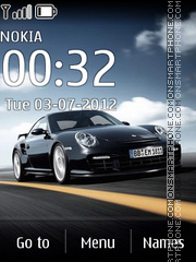 Porsche 911 gt2 01 theme screenshot