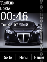 Maybach Exelero 02 theme screenshot