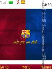Fc Barcelona 25 theme screenshot