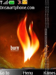 Burn 05 theme screenshot