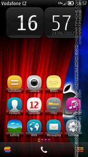 Magic Apple Belle tema screenshot