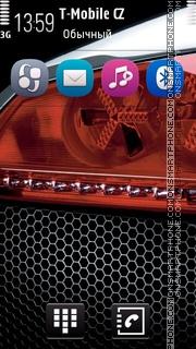 Black Style tema screenshot