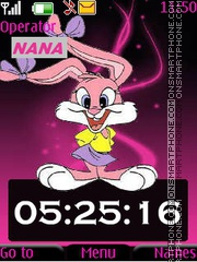 Lola Bunny CLK tema screenshot