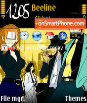 Lupin theme screenshot