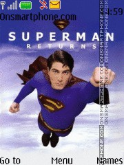 Superman Returns 2 theme screenshot