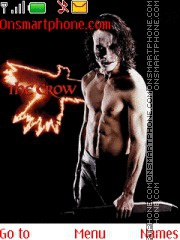 The Crow theme screenshot