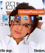 Alizee theme screenshot