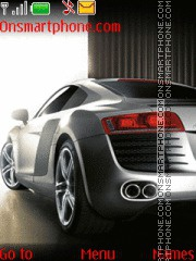 Audi R8 32 theme screenshot