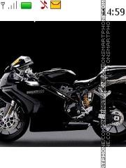 Ducati 1093 theme screenshot