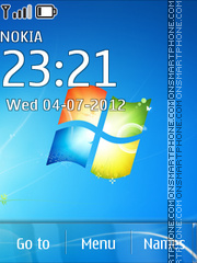 Windows Se7en 03 theme screenshot
