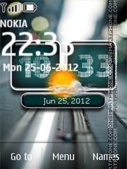 Android New Clock es el tema de pantalla