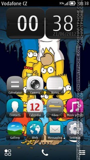 Simpsons 12 theme screenshot