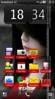 Capture d'écran Cute Doll 05 thème