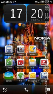 Nokia Logo 03 theme screenshot