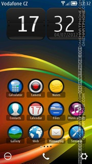 Visuo v2 theme screenshot
